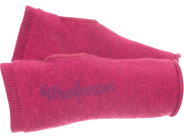 Woolpower 200 Handgelenk-Stulpen cerise/purple